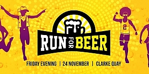 Run for Beer 2017 – Singapore's Hoppiest Run For Beer Buddies