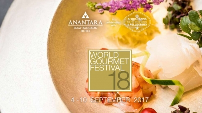 18th World Gourmet Festival Returns To Anantara Siam Bangkok Hotel Thailand