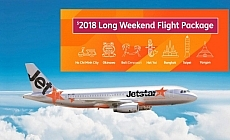 Jetstar Ultimate Long Weekend Flight Package: $2018 To 7 Asia Hot Spots