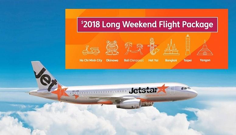 Jetstar Ultimate Long Weekend Flight Package: $2018 To 7 Asia Hot Spots