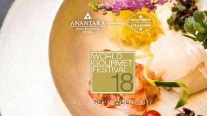 18th World Gourmet Festival Returns To Anantara Siam Bangkok Hotel Thailand