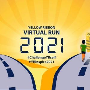 Yellow Ribbon Virtual Run: Challenge YRself & Inspire Second Chances